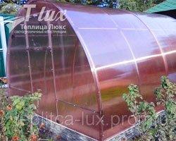 Дачная теплица из сотового поликарбоната GREENHOUSE-nano от компании ТЕПЛИЦА-ЛЮКС (Киев).