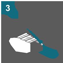 Допускается использование универсальных бытовых ножниц для резки листов