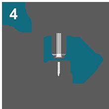 Монтаж монолитного поликарбоната осуществляется горизонтальными рядами, перемещаясь снизу вверх