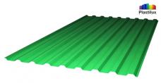 Зелёный профилированный поликарбонат