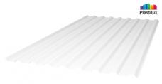 Белый-матовый профилированный поликарбонат