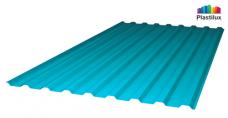 Бирюзовый профилированный поликарбонат