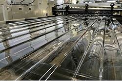 Производство монолитного поликарбоната для теплиц