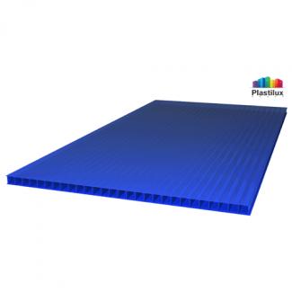 Сотовый поликарбонат ROYALPLAST синий 2100х6000х4мм