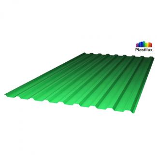 Профилированный поликарбонат POLYNEX МП-20 (У) 0,9мм зелёный
