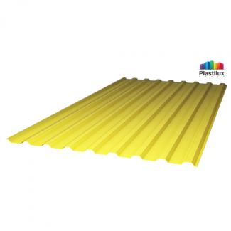 Прозрачный шифер стандарт МП-20 (У) жёлтый 1,15х2м