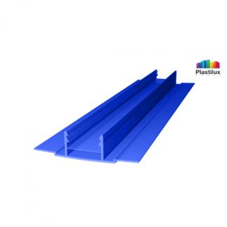 Поликарбонатный профиль ROYALPLAST HCP-D база синий 4-10мм 6000мм