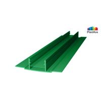 Поликарбонатный профиль ROYALPLAST HCP-D база зелёный 4-10мм 6000мм