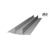 Поликарбонатный профиль ROYALPLAST HCP-D база серебро 4-10мм 6000мм