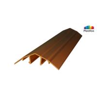 Поликарбонатный профиль ROYALPLAST HCP-U крышка бронза 4-10мм 6000мм