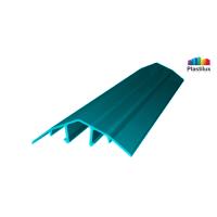 Поликарбонатный профиль ROYALPLAST HCP-U крышка бирюза 4-10мм 6000мм