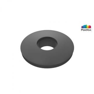 Прессшайба резиновая для поликарбоната серый D=30мм