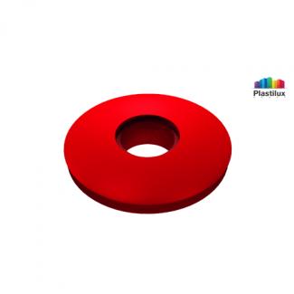 Прессшайба резиновая для поликарбоната красный D=30мм