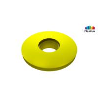 Прессшайба резиновая для поликарбоната жёлтый D=30мм