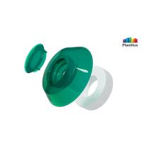Термошайба для поликарбоната УП500 зелёный D=40мм